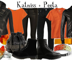fashion, the hunger games, and katniss image