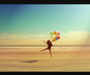 balloons, dancer, and photography image
