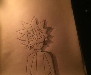 draw and rick and morty image