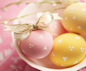 easter and easter eggs image