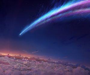 sky, art, and beautiful image