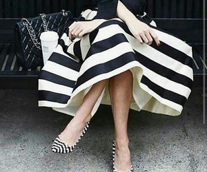 black & white, fashion, and stilettos image