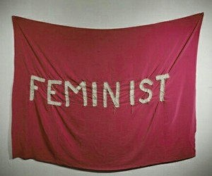 feminist, pink, and woman image