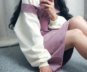 asian girl, fashion, and clothes image