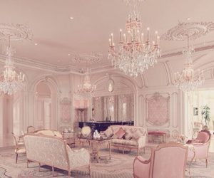 luxury, pink, and home image