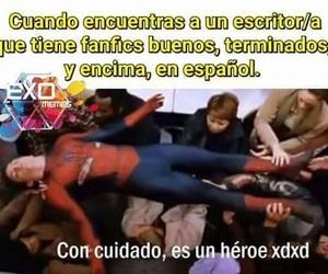 memes, fanfics, and memes en español image