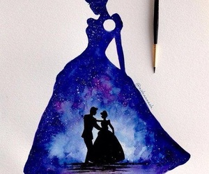 cinderella, art, and disney image
