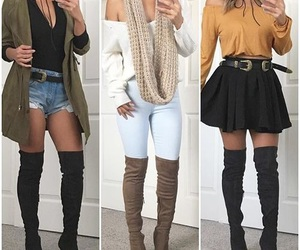 boots, jackets, and scarves image