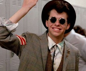 pretty in pink, duckie, and 80s image