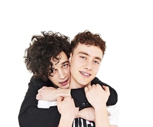 the 1975, olly alexander, and matty healy image