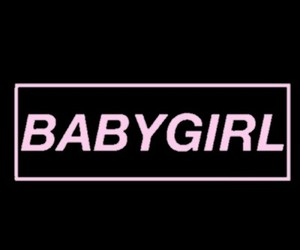 baby girl, edit, and pink image