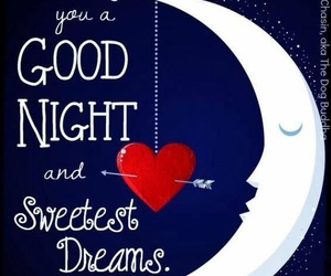 bedtime, crescent, and dreams image