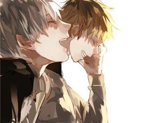 boys, friends, and shironeki image