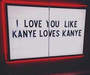 love, kanye, and grunge image