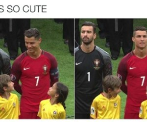 Ronaldo and cute image