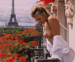girl, Hot, and paris image