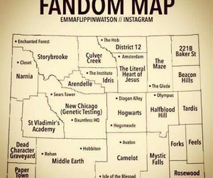 fandom, harry potter, and narnia image