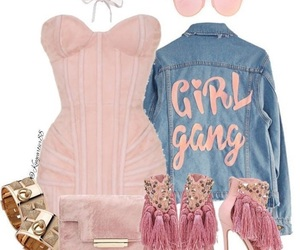 fashion, pink, and sexy image