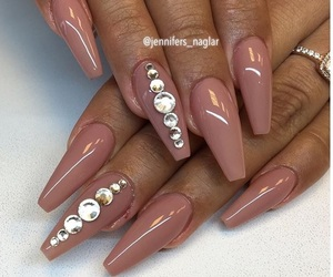 claws, glam, and nail art image