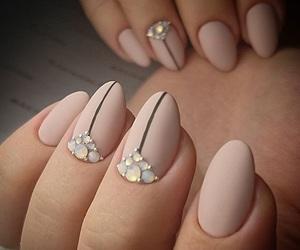 nail art, nails, and Nude image