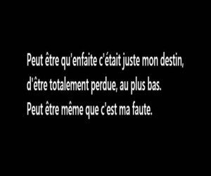 french, vie, and sad image