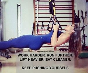 girl, gym, and inspiration image