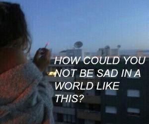 sad, world, and quotes image