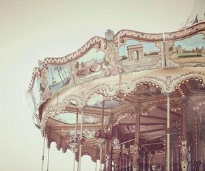 carousel, pretty, and vintage image