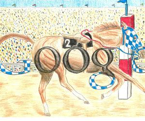 google, horse, and secretariat! image