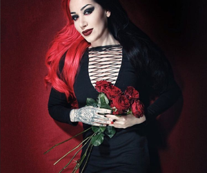 alternative, new years day, and ashley costello image