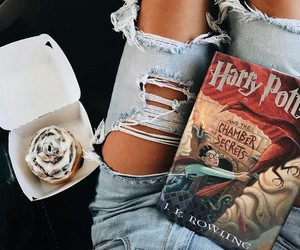 book, harry potter, and fashion image