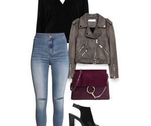 chloe, heels, and Polyvore image