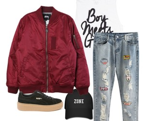 cap, fashion, and Polyvore image