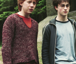 harry potter, ron weasley, and prisoner of azkaban image