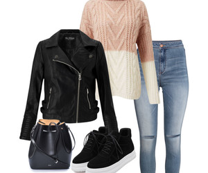 fashion, jacket, and Polyvore image