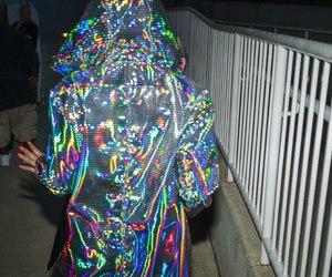 holographic, grunge, and alternative image