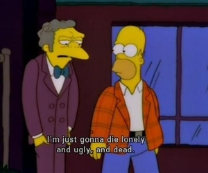 simpsons, ugly, and the simpsons image