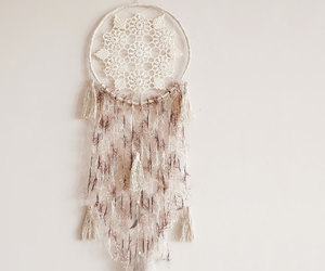 bohemian, decoration, and dream catcher image