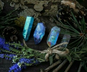 beauty, blue, and cristal image