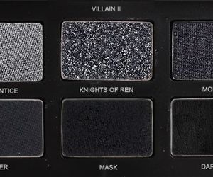 black, aesthetic, and makeup image