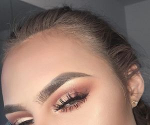 eyes, woman, and perfect image