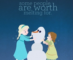 disney, frozen, and quotes image