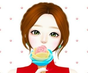 drawing, Enakei, and girl image