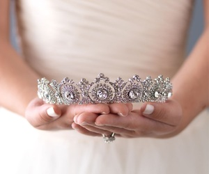 crown, jewelry, and princess image