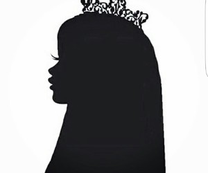 hijab, Queen, and princess image