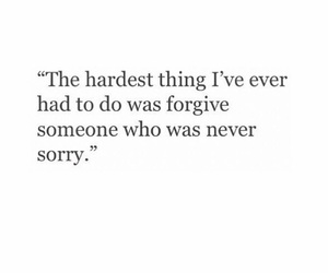 quotes, sorry, and forgive image