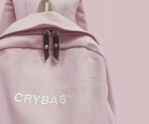 pink, crybaby, and aesthetic image