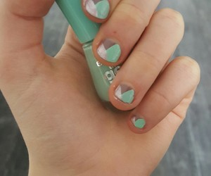 beautiful, colorful, and nails image