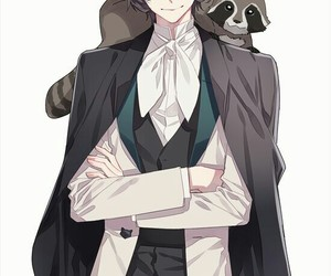 anime, bungou stray dogs, and edgar allan poe image
