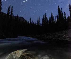 canada and night image